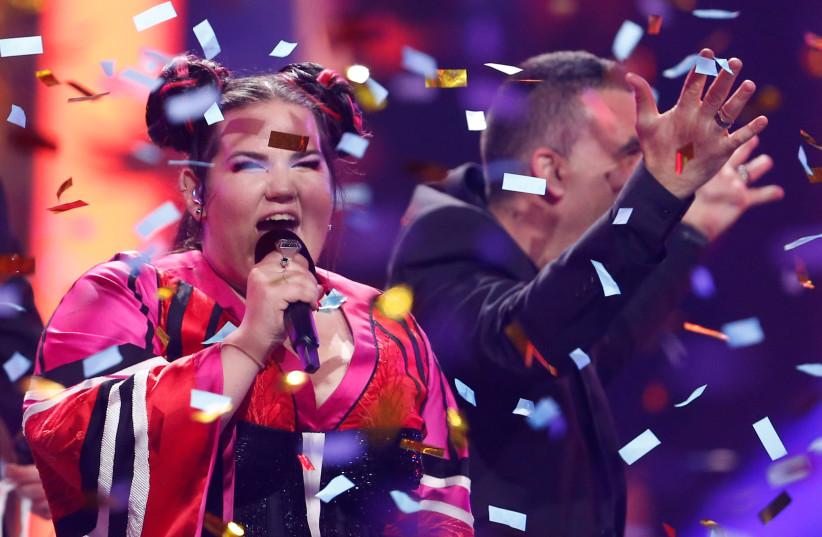Netta Barzilai, Eurovision winner 2018. (photo credit: REUTERS)