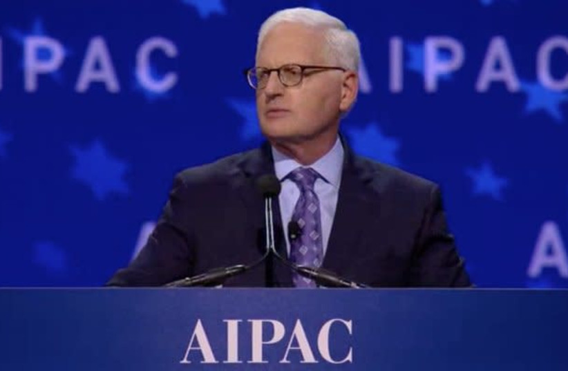AIPAC's longtime executive director Howard Kohr. (photo credit: SCREENSHOT AIPAC)