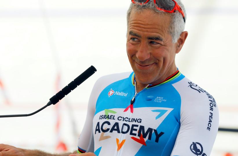 Canadian philanthropist, and passionate cyclist Sylvan Adams. (photo credit: REUTERS)