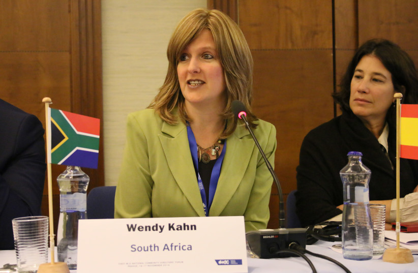 South African Jewish Board of Deputies national director Wendy Kahn. (photo credit: COURTESY SAJBD)