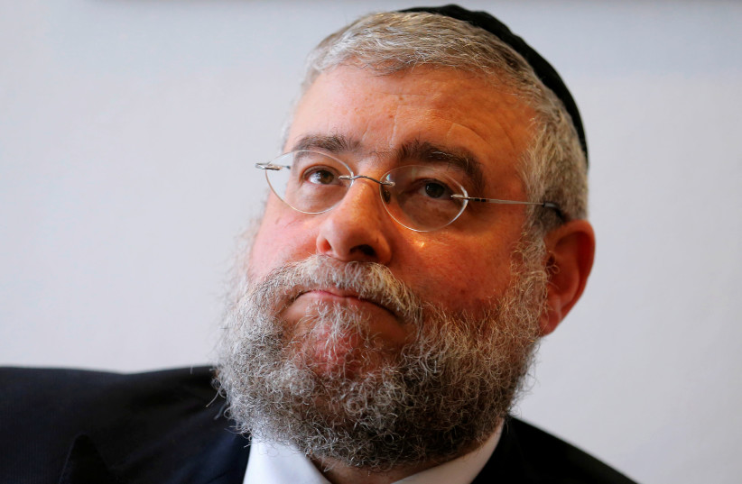 Rabbi Pinchas Goldschmidt is the chief rabbi of Moscow. (photo credit: REUTERS)
