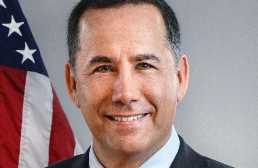 Philip Levine, one of two Jewish candidates in the Democratic race for governor in St. Petersburg, Fla. (August 28, 2018).  (photo credit: Wikimedia Commons)