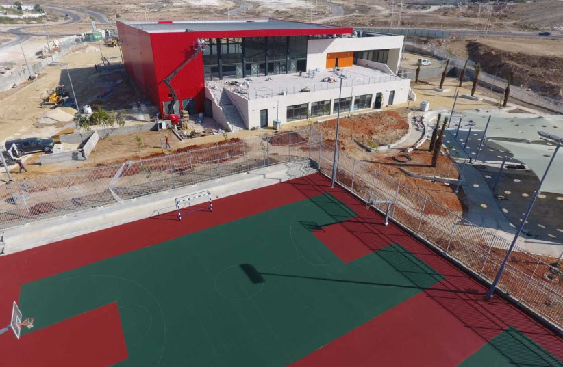 The new country club complex on the Bedouin settlement of Rahat. (photo credit: Courtesy)