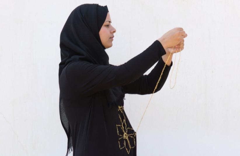 Marwa Abd Alkadr sheds light on the Bedouin way of life: 'Rana,' 2018, Performance. (photo credit: LIANNE SILBERMAN)