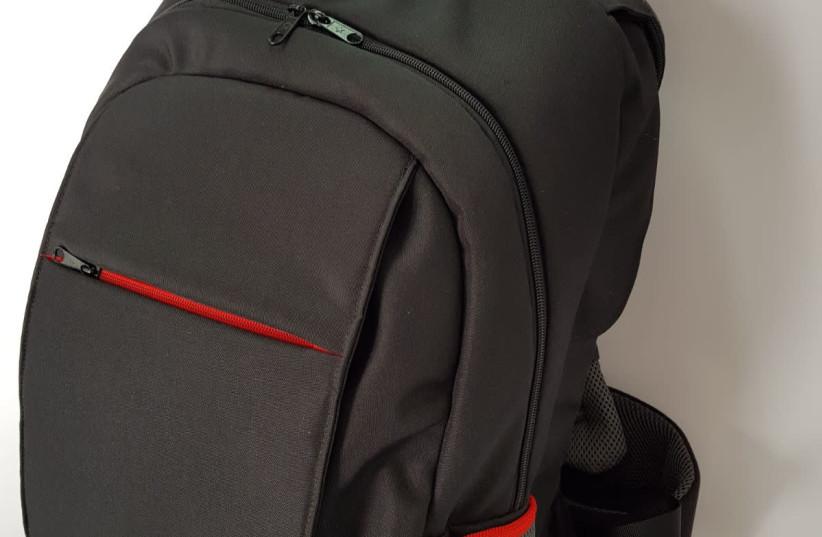 Switchblade backpack (photo credit: MASADA ARMOR)