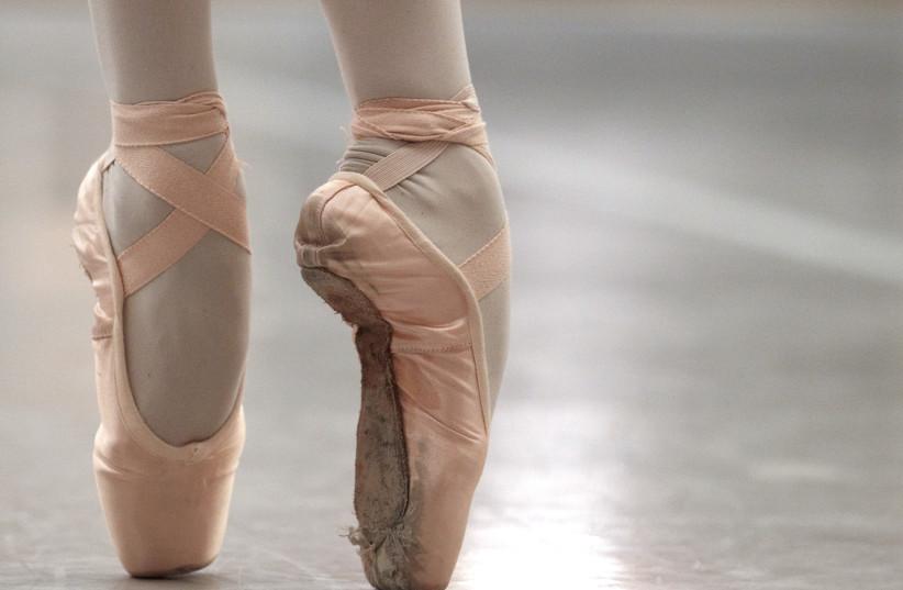 Ballerina (Illustrative) (photo credit: DENIS BALIBOUSE / REUTERS)