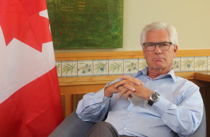 Canadian Trade Minister Jim Carr (photo credit: MARC ISRAEL SELLEM)