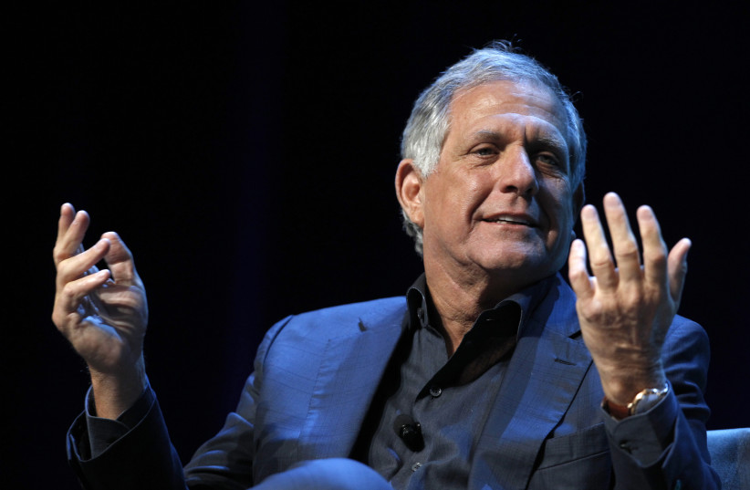 Leslie Moonves, president and CEO of CBS Corporation, the 2015 International Consumer Electronics Show, Las Vegas (photo credit: REUTERS/STEVE MARCUS)