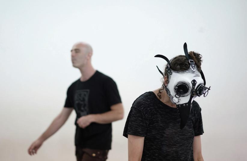 EFRAT RUBIN and Yehu Yaron in 'Crows.' (photo credit: Courtesy)