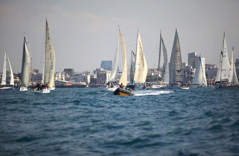 Sail Tel Aviv-Jaffa (photo credit: EFRAT SAAR)