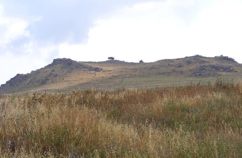 Horns of Hittin (photo credit: Wikimedia Commons)