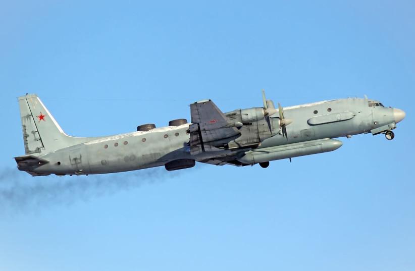Russian Air Force Ilyushin Il-20M  (photo credit: KIRILL NAUMENKO/WIKIMEDIA COMMONS)