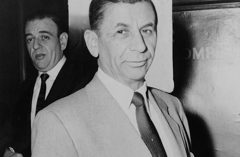 Meyer Lansky in 1958  (photo credit: Wikimedia Commons)