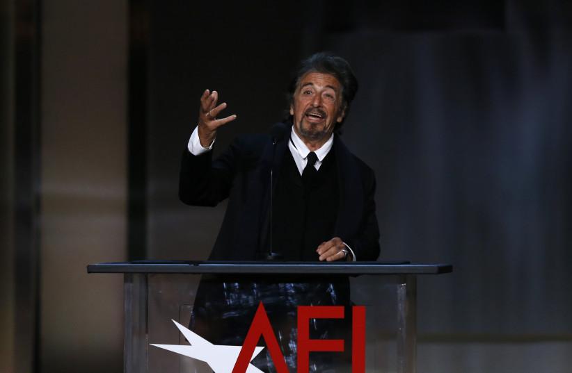American Film Institute Life Achievement Award – Show – Los Angeles, California, U.S., 08/06/2017 - Actor Al Pacino speaks on stage.  (photo credit: REUTERS/MARIO ANZUONI)