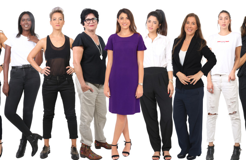 Female candidates for Tel Aviv city hall elections (photo credit: DVORA ORBACH AND MAYA AMADO)
