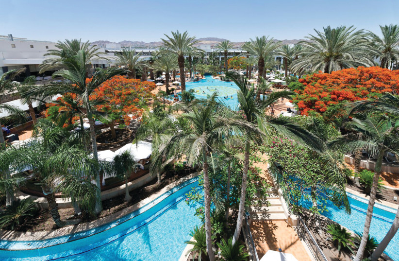 AT THE AGAMIM Hotel, there is no escaping the breathtaking view of the desert mountains that surround Eilat (photo credit: Courtesy)