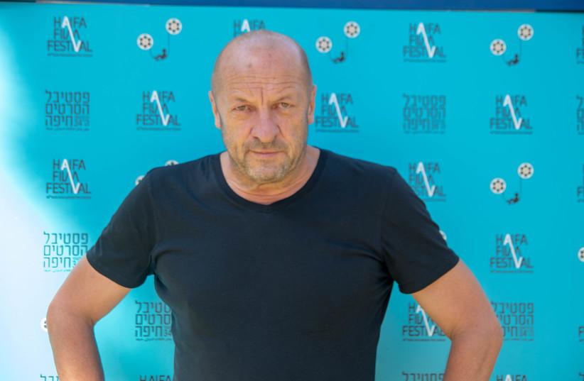 POLISH COMPOSER Zbigniew Preisner at the 34'th Haifa Film Festival (photo credit: BARAK BRAUN)