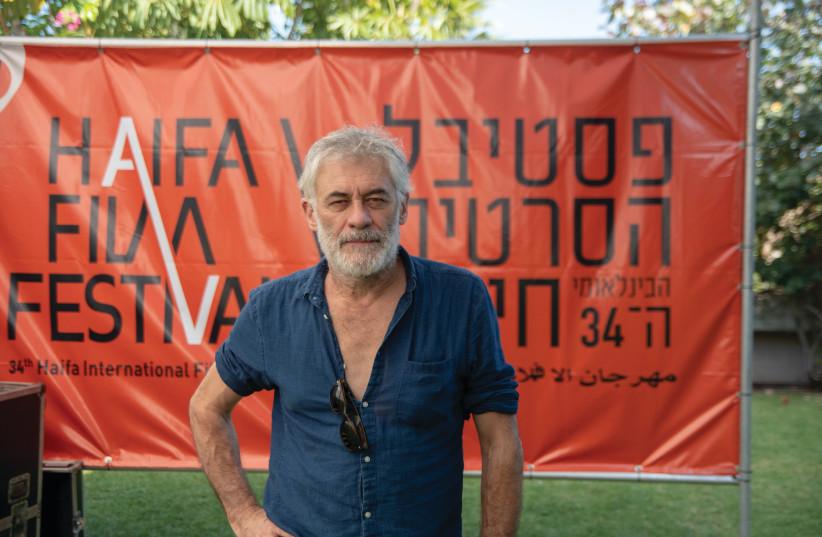 ERICK ZONCA attends the Haifa International Film Festival (photo credit: BARAK BRAUN)