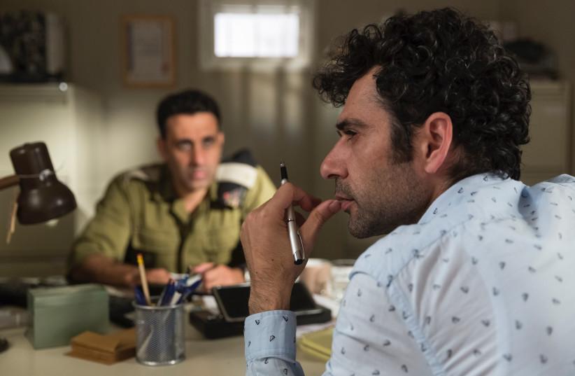 Tel Aviv on Fire, winning film of 34th Haifa International Film Festival. The actor on the right is Kais Nashif.    (photo credit: PATRICIA IBANEZ)