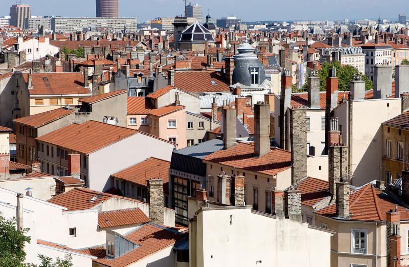 City of Lyon, France (photo credit: OLIVIER AUMAGE/WIKICOMMONS)