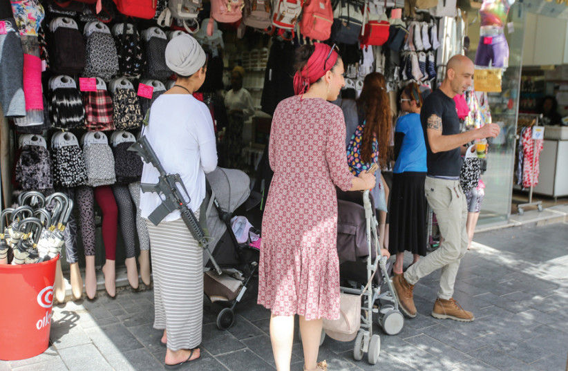 'STAND ON the corner of any Jerusalem street and in the space of 10 minutes, you can hear several languages.' (photo credit: MARC ISRAEL SELLEM)