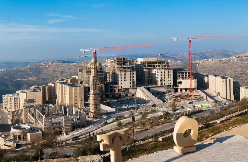 Rawabi_Panorama (photo credit: Wikimedia Commons)