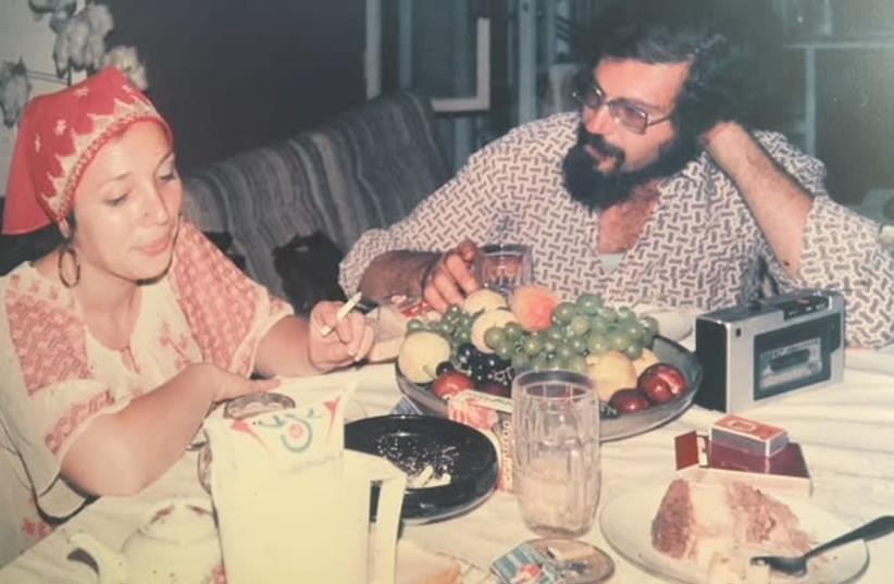 Jerusalem Post reporter Greer Fay Cashman and her husband, photographer Dan Landau (photo credit: Courtesy)