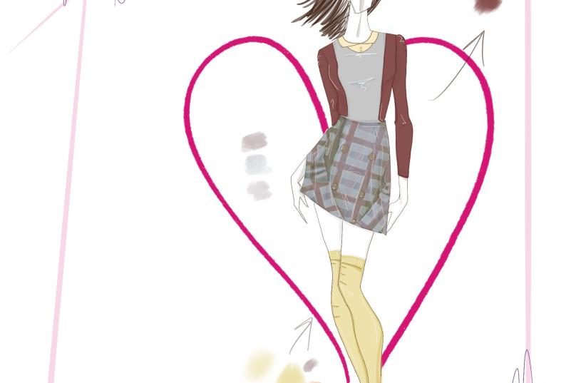 Sketch by Rafaella Rabinovich  (photo credit: Courtesy)