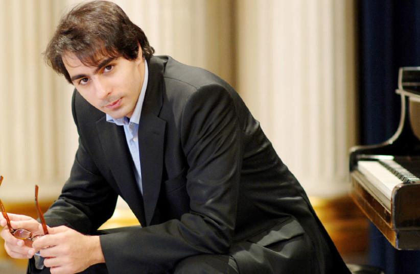 Conductor-pianist Saleem Abboud Ashkar presides over a slew of romantic works by Franz Liszt. (photo credit: DAIBES ABBOUD ASHKAR)