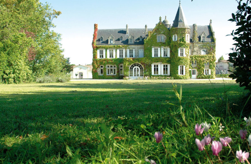 LASCOMBES, A beautiful ivy-covered, turreted chateau. (photo credit: Courtesy)