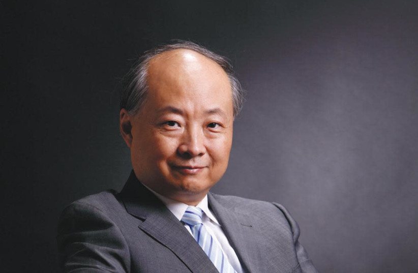 Chinese Ambassador to Israel Zhan Yongxin (photo credit: EMBASSY OF CHINA IN ISRAEL)