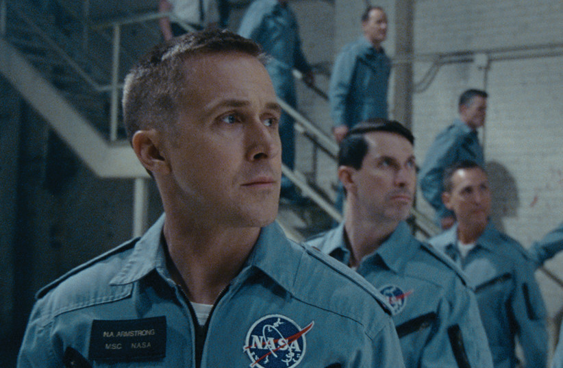 Ryan Gosling in First Man (photo credit: UNIVERSAL PICTURES)