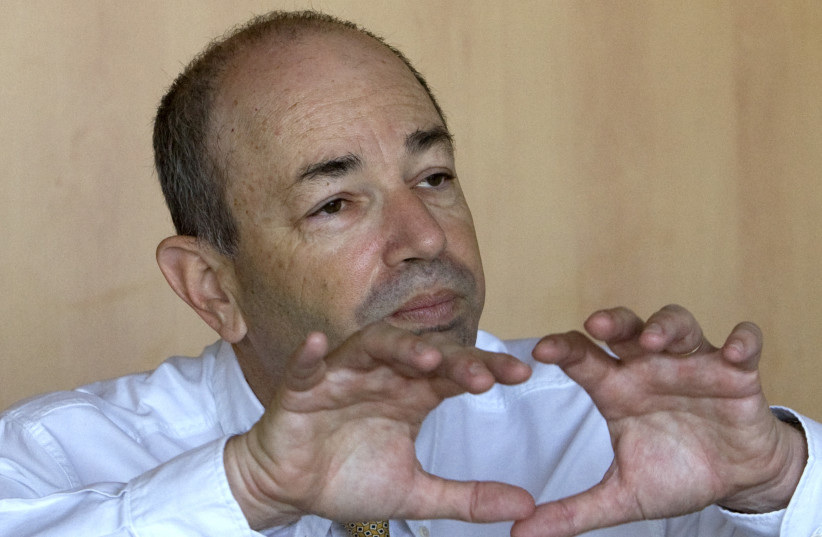Non-executive chairman of the UK Israel Tech Hub Haim Shani, pictured in May 2008 (photo credit: MAL LANGSDON/REUTERS)