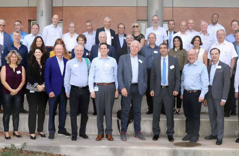 SOME OF the world's most renowned hospital and health system executives from North America, UK and EU came to the Sheba Medical Center campus this week to attend the firstever 'Summit 2018-The Future Hospital: Setting Strategies for 2030 and Beyond' (photo credit: SHEBA MEDICAL CENTER)