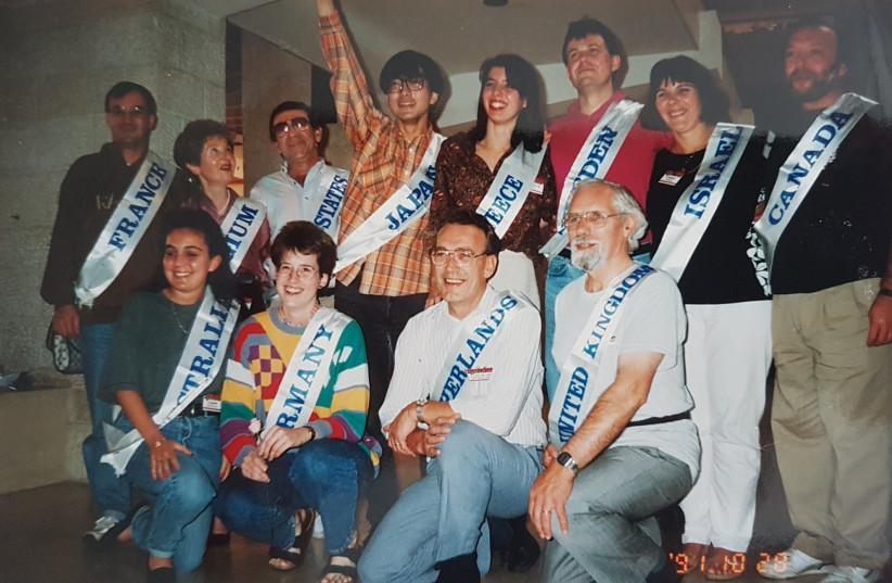 First world Rummikub championship in Jerusalem in 1991  (photo credit: Courtesy)