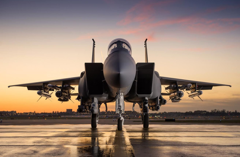 Boeing's F-15IA Advanced fighter jet (photo credit: BOEING)