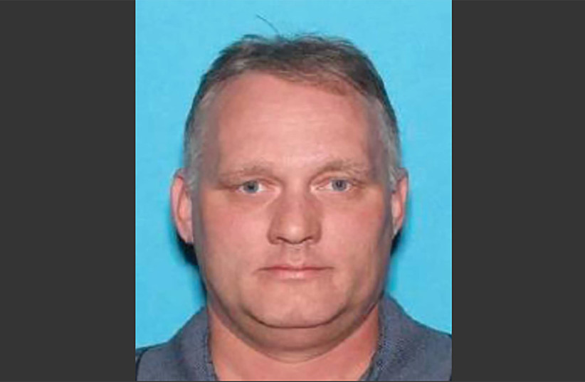 This image widely distributed by US media on October 27, 2018 shows a Department of Motor Vehicles (DMV) ID picture of Robert Bowers (photo credit: AFP PHOTO)
