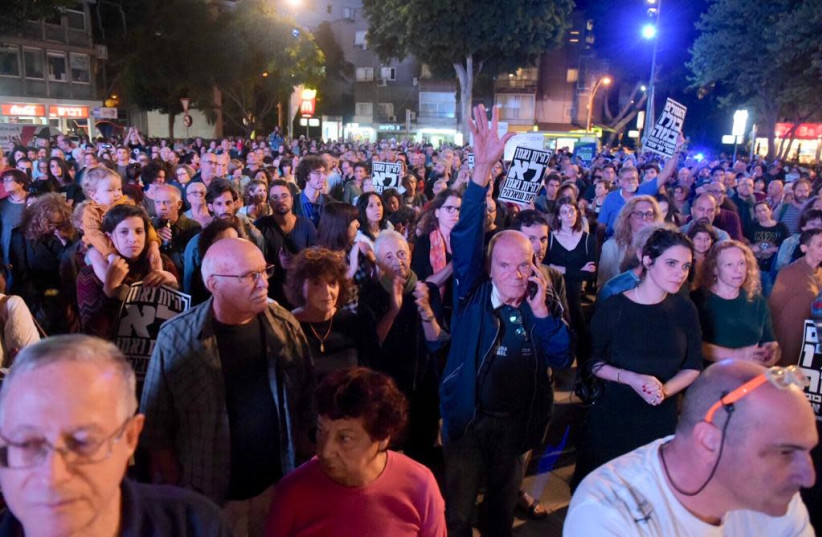 Artists, public figures, members of the public seek to stop advancement of controversial bill (photo credit: AVSHALOM SASSONI)