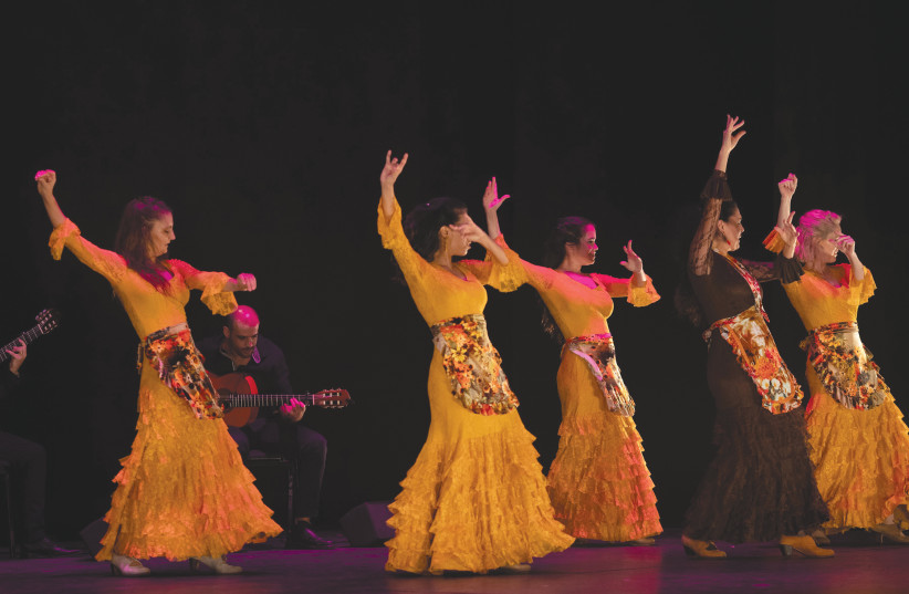 Remangar Flamenco Company Temblor (Tremor) (photo credit: SHLOMI DOR)