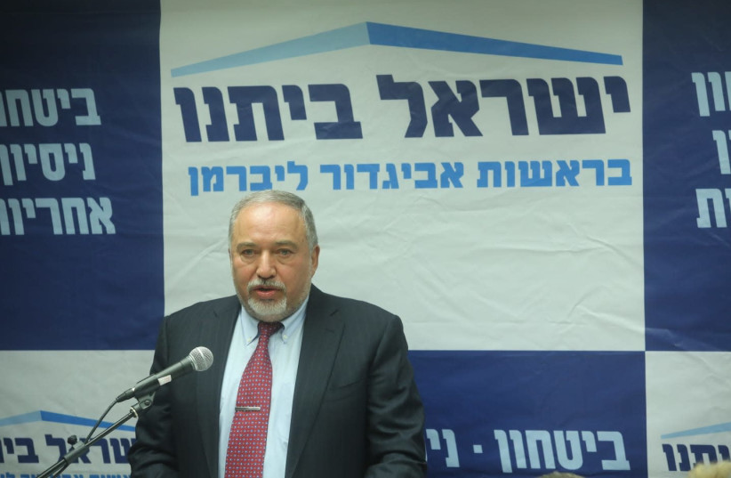 Defense Minister Avigdor Liberman, October 29, 2018 (photo credit: MARC ISRAEL SELLEM/THE JERUSALEM POST)
