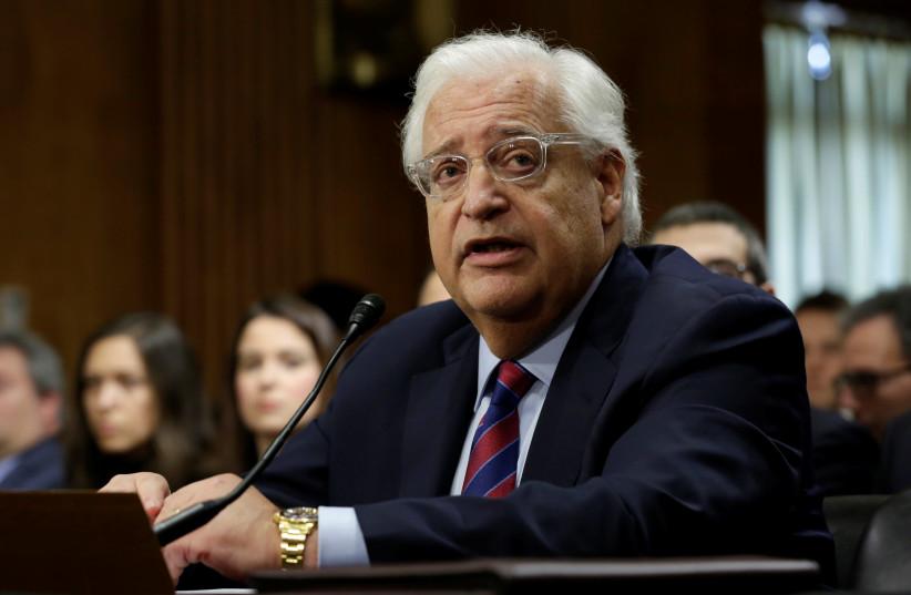David Friedman (photo credit: REUTERS)