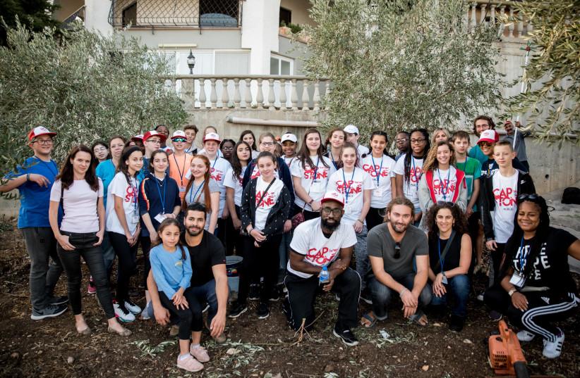 Hebrew Language Academy students tour Israel this week. (photo credit: HEBREW PUBLIC)