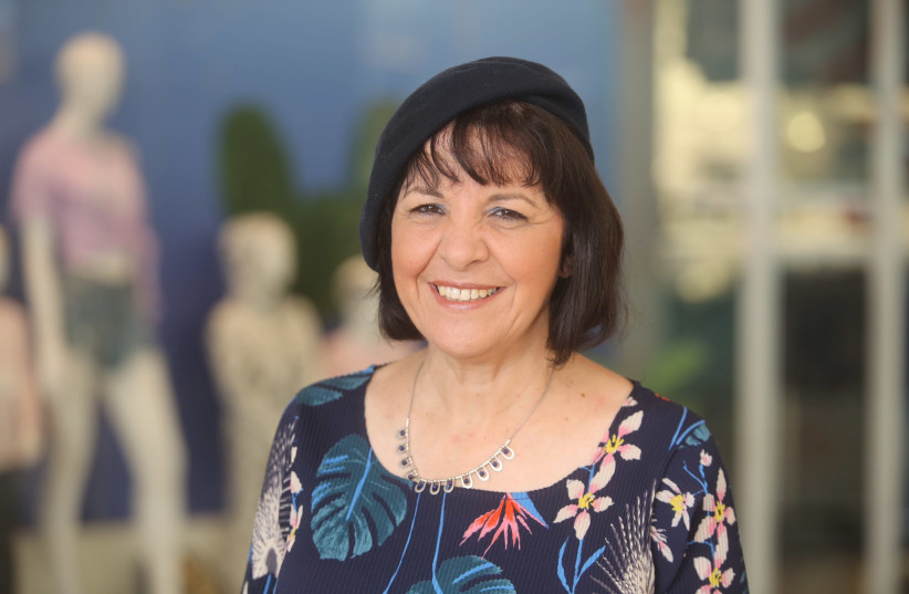Aliza Bloch, Beit Shemesh religious-Zionist mayoral-candidate, October 2018 (photo credit: MARC ISRAEL SELLEM/THE JERUSALEM POST)