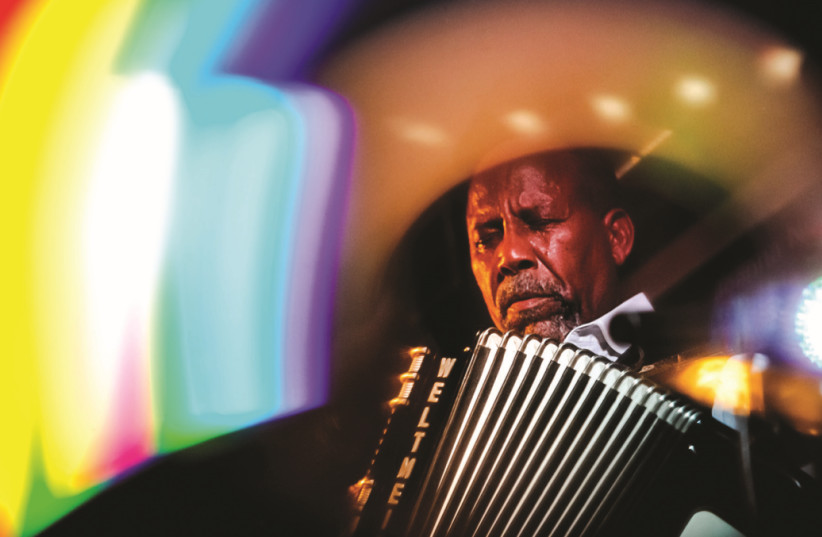 MULTI-INSTRUMENTALIST Hailu Lulessa Mergia: You can take an accordion with you wherever you want (photo credit: Courtesy)