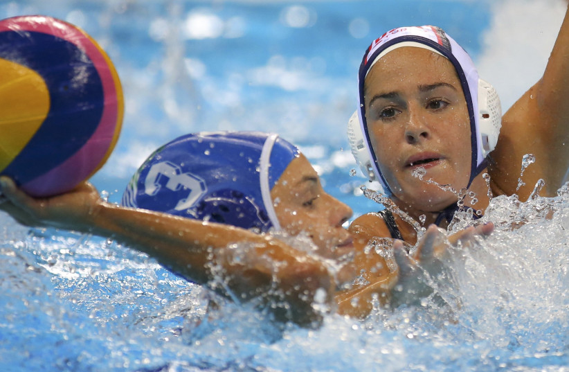 Water Polo - Women's Gold Medal Match USA v Italy (photo credit: REUTERS/AI PROJECT)