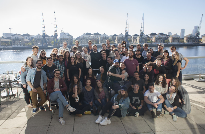 Young Jews from around the world gather in London for the Moishe House Internatty Conference 2018 (photo credit: Courtesy)