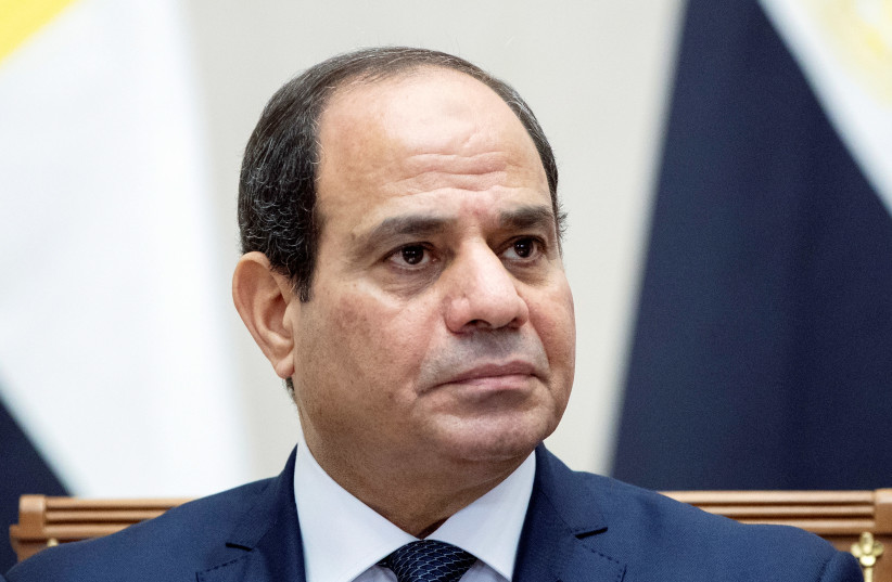 Egyptian President el-Sisi and CBS - The Jerusalem Post