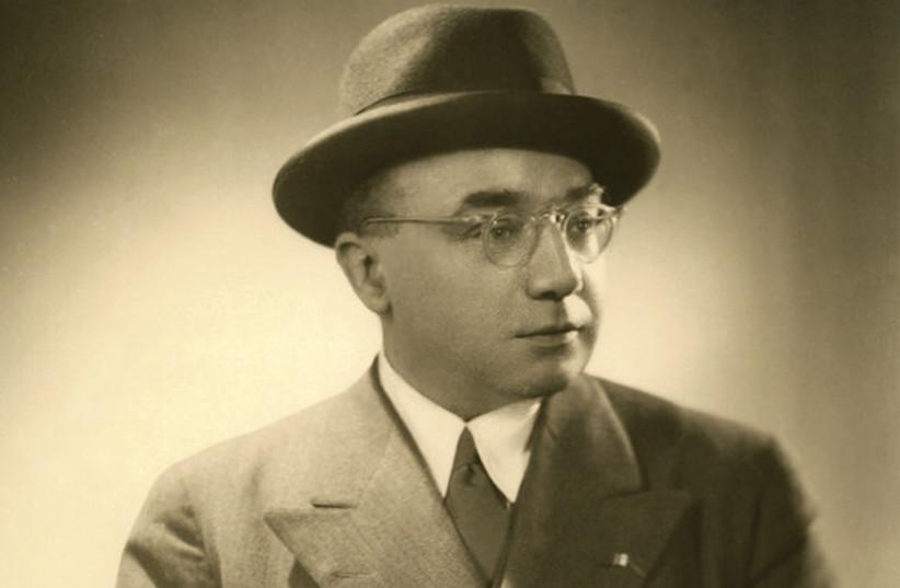 Arthur Szyk. Paris, early 1930s. (photo credit: Courtesy)