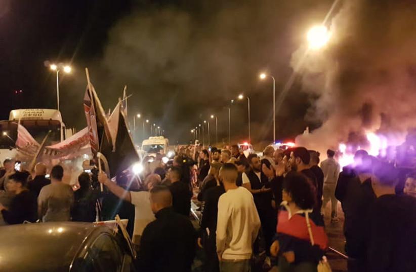 Sderot residents protest against ceasefire.  (photo credit: KOBI RICHTER/TPS)