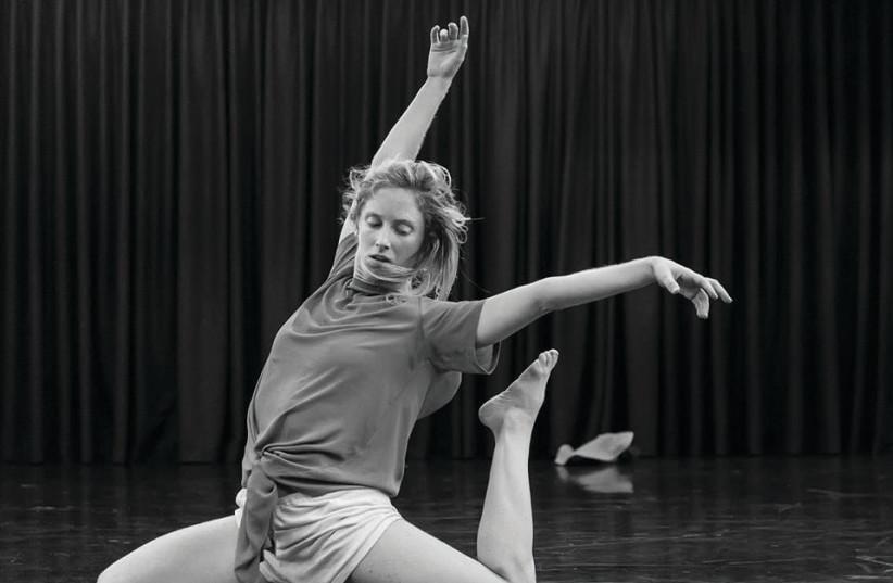 CURTAIN UP 2018 dancer Roni Hadash.  (photo credit: IRA TASHLITSKY)